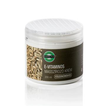 Crema de masaj cu Chimen si Vitamina E 200 ml YAMUNA