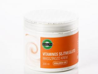Crema de masaj cu vitamine 200 ml YAMUNA