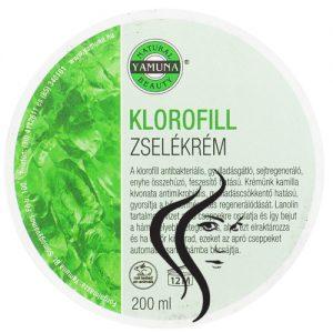 Gel crema cu CLOROFILA – 200 ML Yamuna