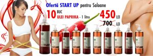 OFERTA START UP – Ulei de masaj Anticelulitic cu Paprika – Yamuna – 1.000 ML