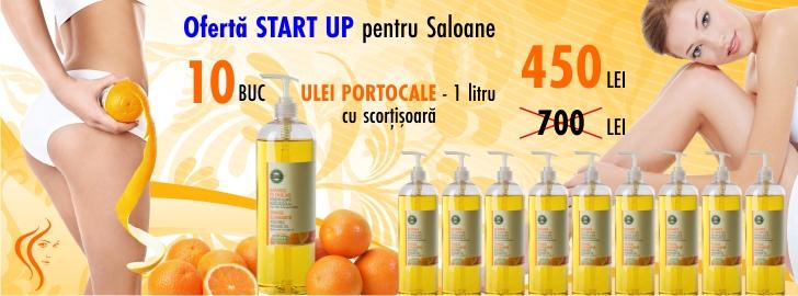 OFERTA START UP-Ulei de masaj cu Portocale si Scortisoara - Yamuna - 1.000 ml